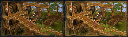 Grand Tree in the Tree Gnome Stronghold