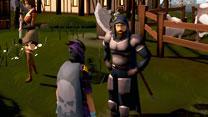 Screen shot of a Slayer Master
