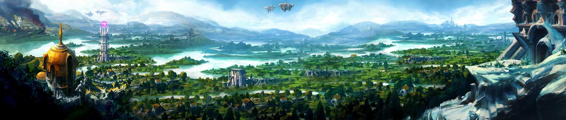 RuneScape-Landschaftsbild